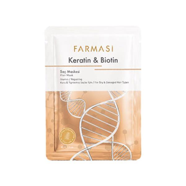 Farmasi Hajmaszk keratinnal és biotinnal 30ml