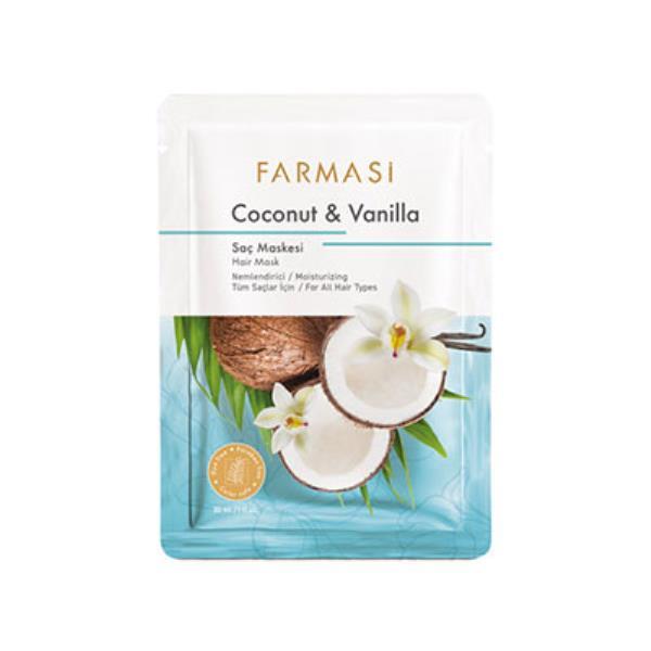 Farmasi Kókuszdió és vanília hajmaszk 30ml